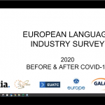European Language Industry before and after CV19 webinar recording