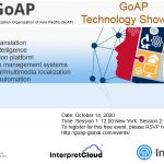 GoAP's first technology and internationalisation show case on the way