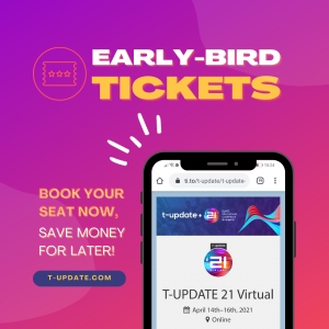 Earlybird ticket tupdate21