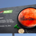 Mars – the perfect setting for lunch and evening drinks